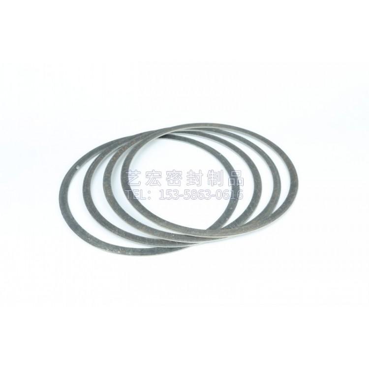 广东石棉法兰垫片加工厂家_泰州艺宏订制石棉橡胶垫黑灰