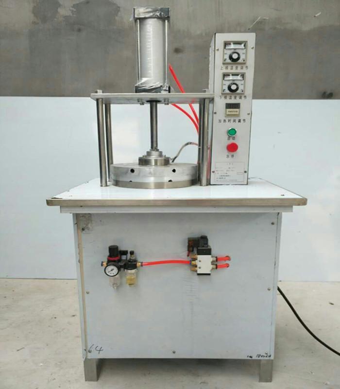 山东隆顺自动一体式气压型 液压型 烙饼机 压饼机