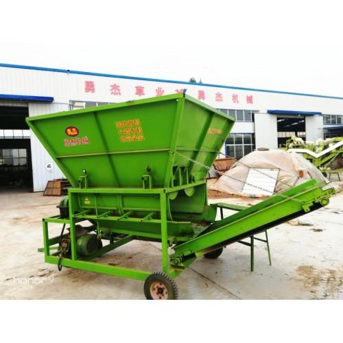 自动上料分草设备  上料机可接除膜机 对接除膜 摘果