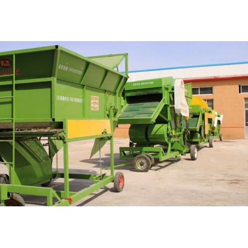自动上料分草机设备  上料机可接除膜机 勇杰