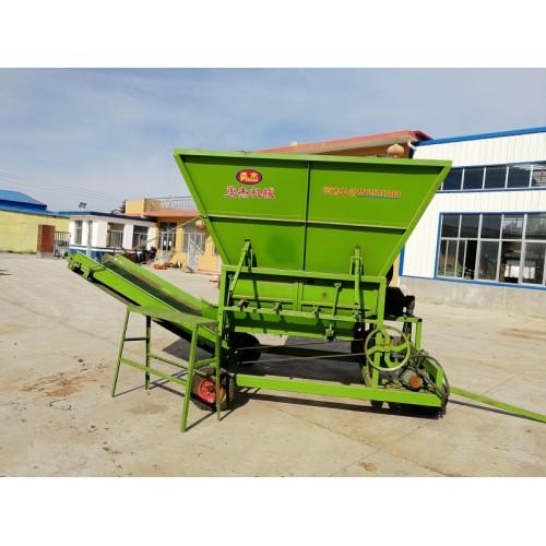 自动上料分草机厂家  上料机可接除膜机 勇杰机械