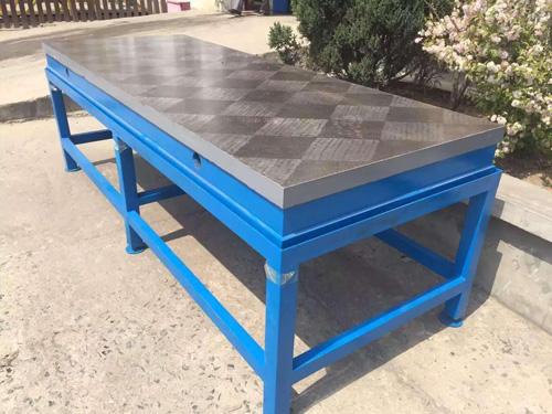 贵州铸铁检验平板加工_启翔量具加工订制铸铁平台