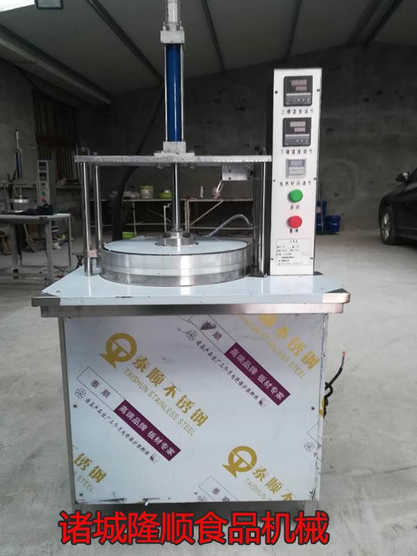 小型半自动商用压饼机春饼机卤肉卷蔬菜饼