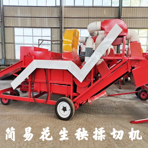 除膜揉丝机 大型花生秧除膜粉碎机厂家 勇杰机械