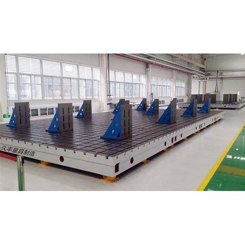 浙江铸铁平台现货直供/久丰量具安全可靠——铸铁焊接平台