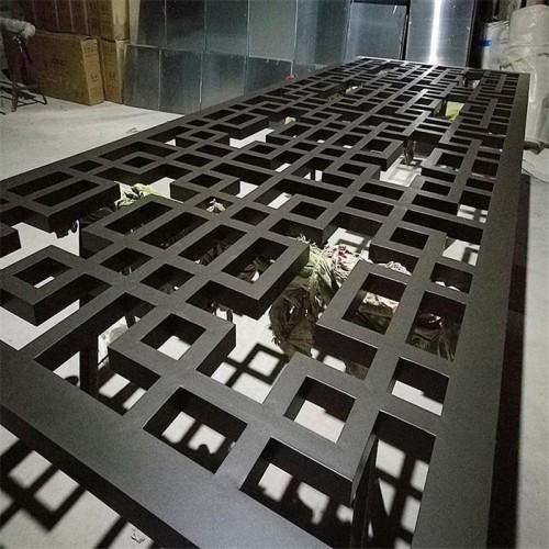型材方管焊接铝花格