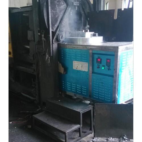 感应熔锌电磁炉88T压铸机熔炉溶铅铝锌合金电磁感应炉