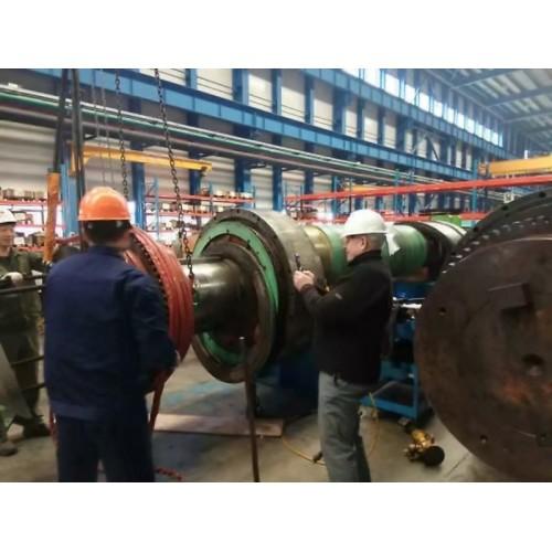 轧辊机 感应加热过盈装配轴承加热电机转子齿轮联轴器热装热拆