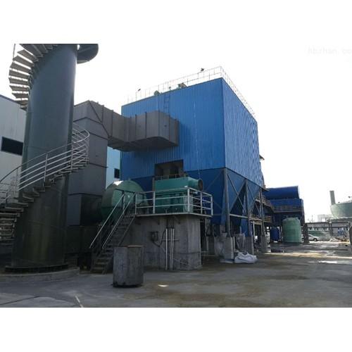 广东锅炉布袋除尘器/河北濯海环保定制锅炉脱硫脱硝除尘器