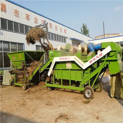 大型花生秧揉丝机厂家 花生秧除膜粉碎机 自产自销
