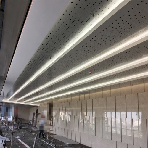 提供冲孔铝单板厚度 冲孔铝单板外墙效果图
