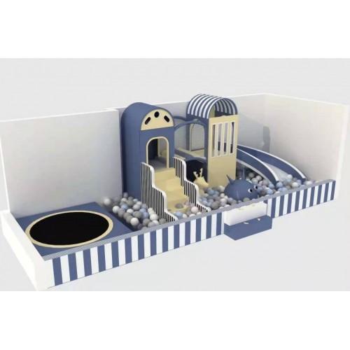 室内亲子儿童乐园定制淘气堡游乐设施外贸加工出口俄罗斯