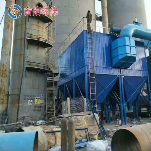 建材厂20吨锅炉除尘器配15KW风机标准