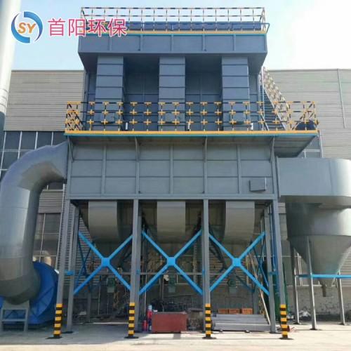 铸造厂锅炉布袋除尘器配套火花捕捉器外形尺寸