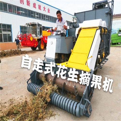 大型干湿花生摘果机厂家 自走式花生摘果机