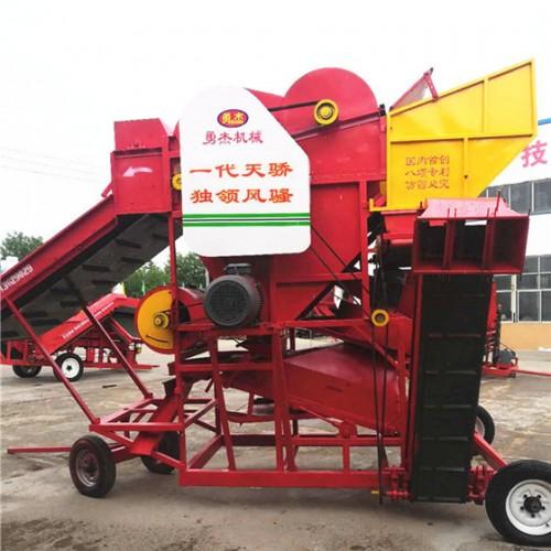 双排杂花生摘果机批发 大型排杂排花生摘果机厂家