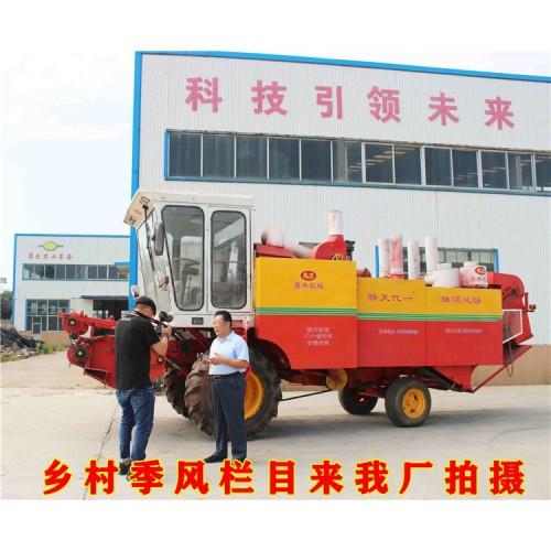 大型花生秧揉丝机厂家 自走花生秧除膜粉碎机