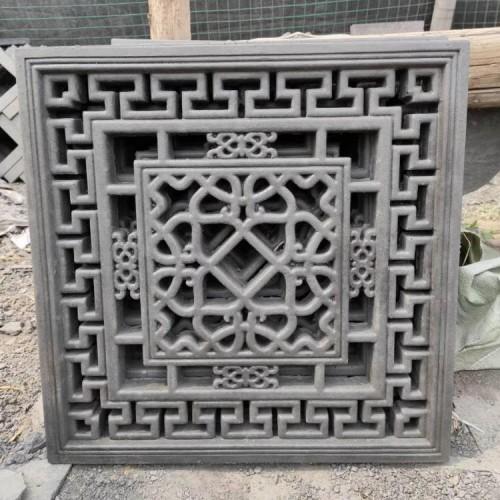 镂空砖雕 仿古砖雕模具硅胶  石膏线模具硅胶