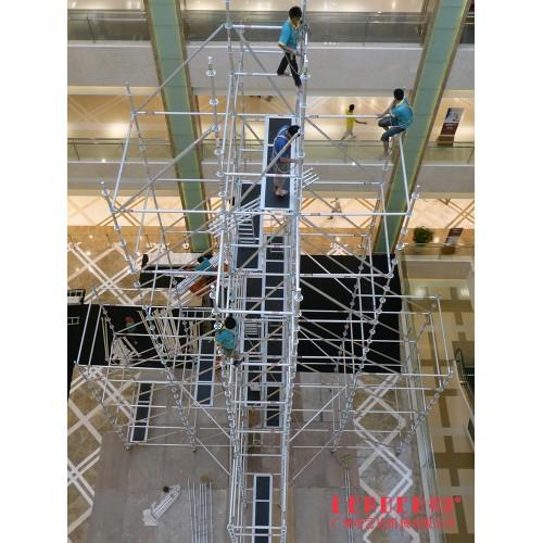 38m作业铝合金塔架 盘扣式移动快装型 脚手架厂家可定制