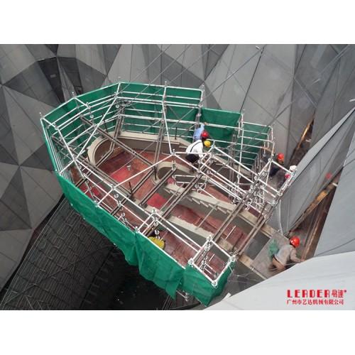 高空安全作业定制 铝合金脚手架 高新技术产品安全稳固