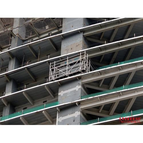 新型脚手架 铝合金回型围柱工作架 盘扣式多样连接 安全实用