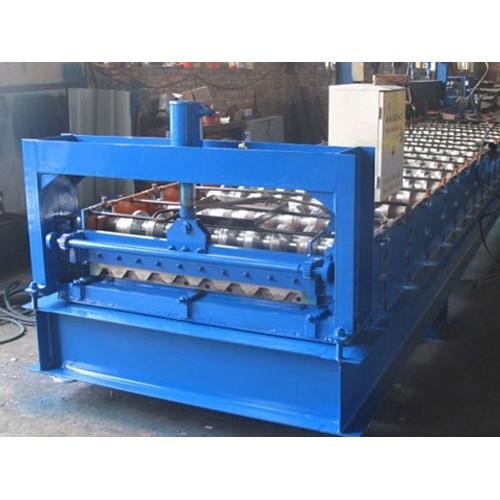 安徽合肥彩钢压瓦机「益商压瓦机」彩钢设备费用