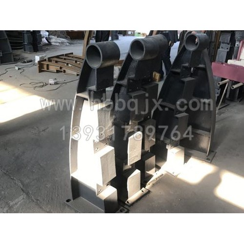 甘肃铸铁护栏支架订制厂家~泊泉机械制造