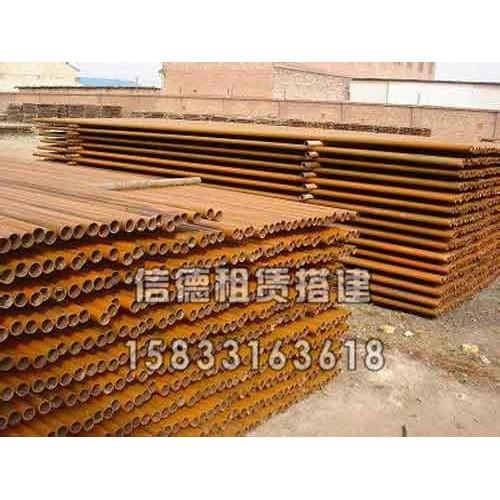沧州钢管租赁出租多少钱[信德建筑器材]钢管搭建搭拆服务完善