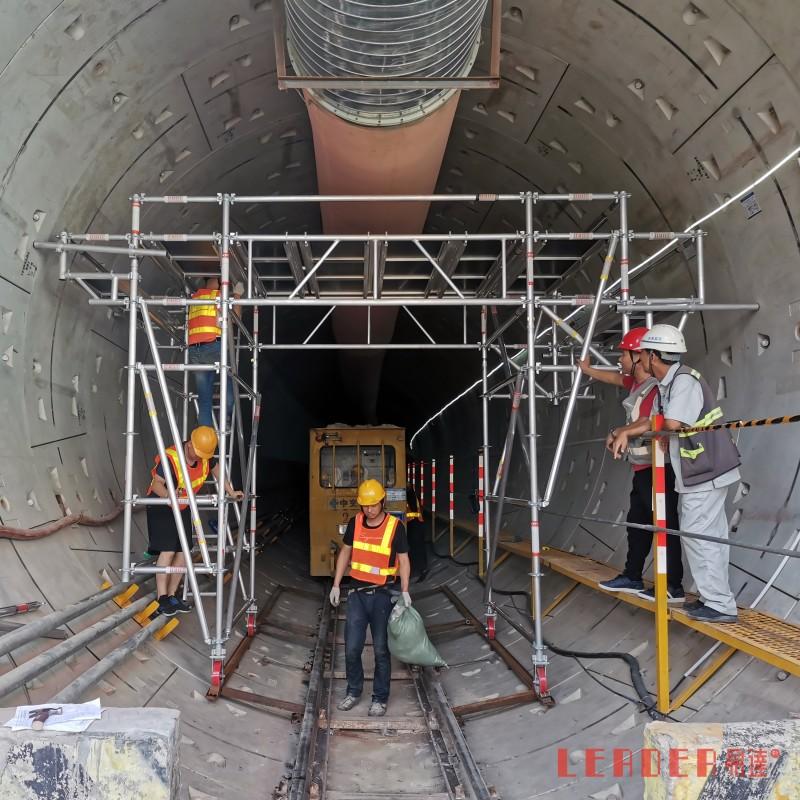 铝合金轨道架 地铁隧道桥洞工作平台 轻便牢固使用方便支持定制