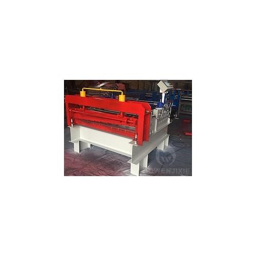 安徽彩钢板开平机/博文压瓦机械厂生产定制