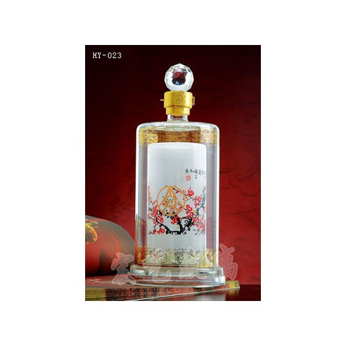 北京工艺酒瓶生产订制|宏艺玻璃制品公司值得信赖
