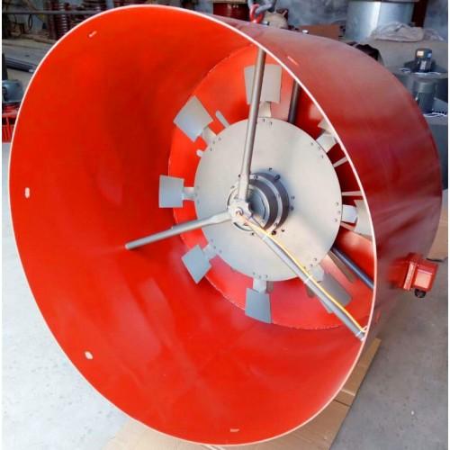 G500A电机通风机YTZ500散热冷却风机双支架轴流风机