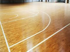 篮球馆实木运动木地板多少钱一平米