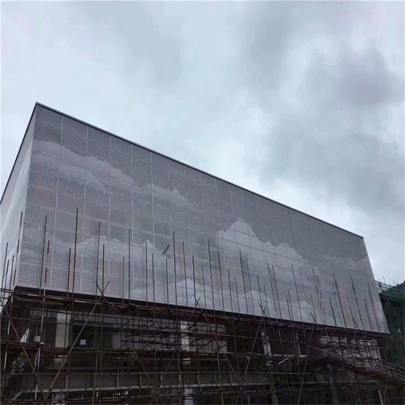佛山图案造型冲孔铝单板加工