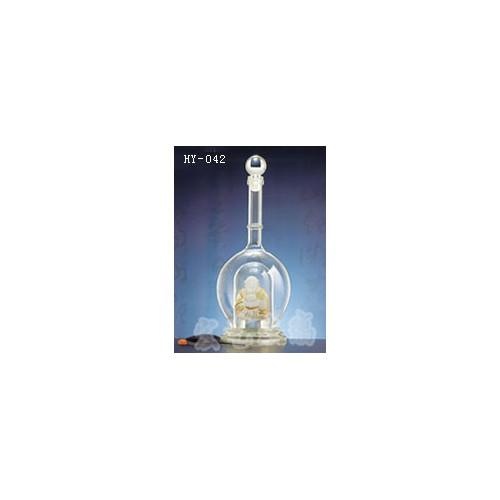 青海手工艺酒瓶生产订制 宏艺玻璃制品公司信誉可靠