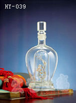 广东手工艺酒瓶生产加工|宏艺玻璃制品公司量大优惠