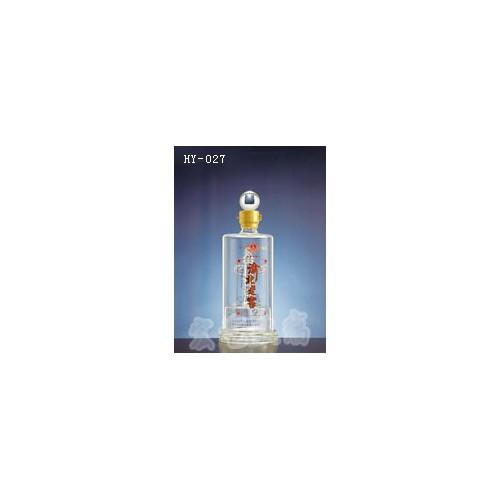 浙江工艺酒瓶生产订做 宏艺玻璃制品公司价格从优