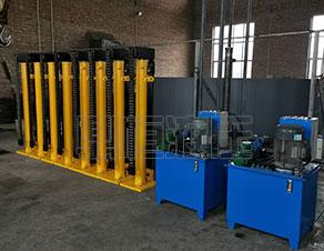 重庆液压顶升设备生产公司_鼎恒液压机械厂价订制液压提升装置