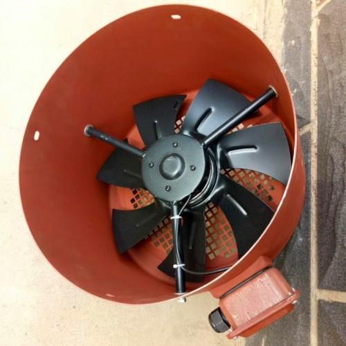 散热风扇 变频电机用通风机 变频电机轴流风机 G355-AB
