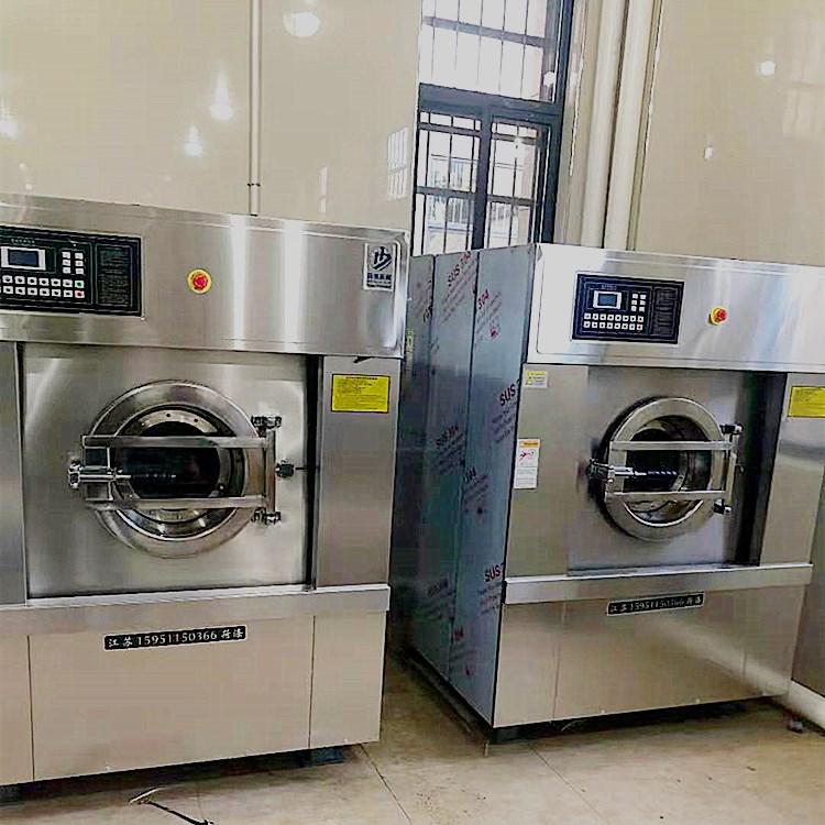 双开门医院用洗衣机烘干机 全套医院洗衣房设备