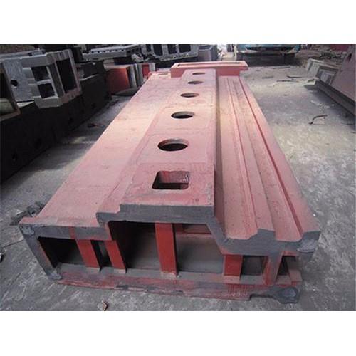 天津机床铸件加工|启翔工量具加工订做机床床身铸件