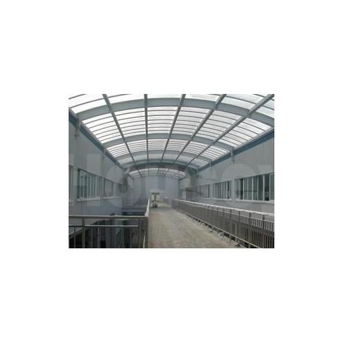 石景山彩钢钢构制作-北京福鑫腾达订做钢结构商场、车库出入口