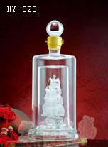 上海玻璃酒瓶厂家供货|河间宏艺玻璃价格从优