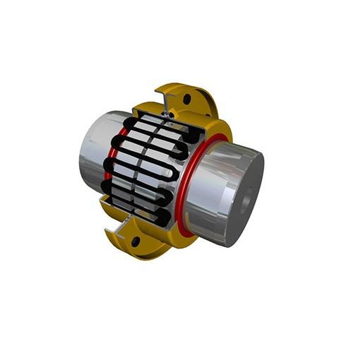 贵州蛇簧联轴器加工厂家/朗动传动机械/厂家生产星形弹簧联轴器