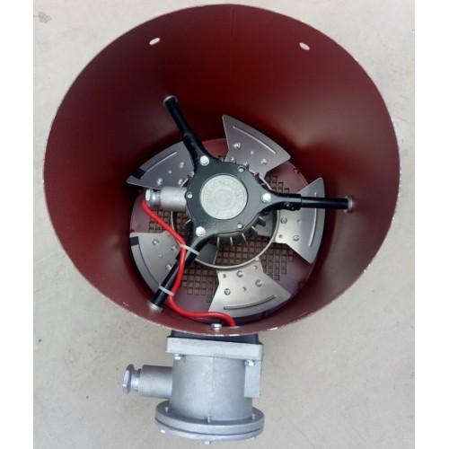 内置防爆电机通风机 BG变频防爆风机 GB变频风帽 永动