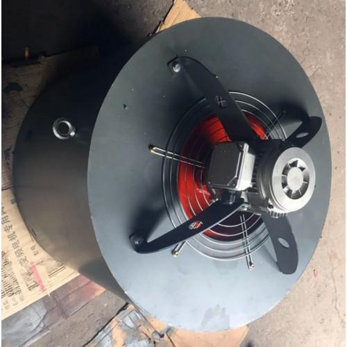 外置电机叶轮风机G355F加大风量通风机定制电机散热风机