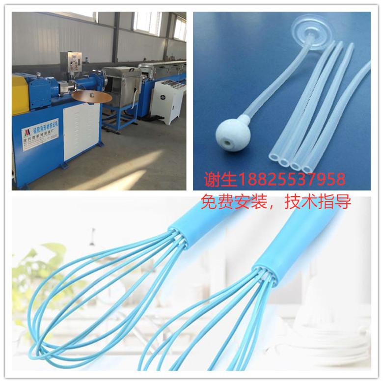 硅胶医疗管挤出机 单螺杆硅胶管挤出机 厂家直销