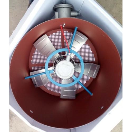 YBP防爆变频电机通风机BG防爆变频通风机隔爆型轴流通风机