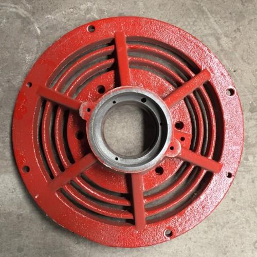 电磁调速电机散热盖 YCT225端盖 调速电机花盖 衡水永动