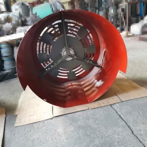 变频电机通风机 变频散热通风机 GP400A双支架风机 永动